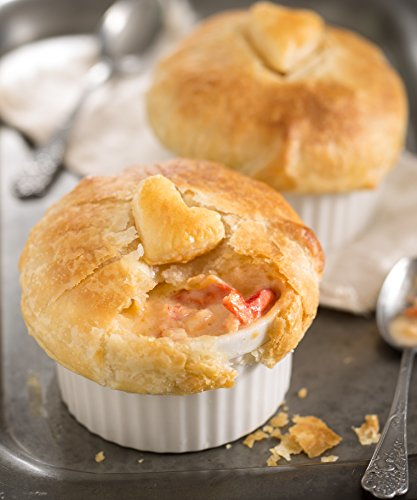 Heart-Topped Lobster Pot Pies, Four Pies (Pot Pie Sauce compare prices)