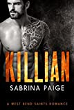 Killian: A West Bend Saints Romance (kindle edition)