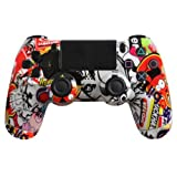 Custom PlayStation 4 Controller Special Edition Sticker Bomb Controller