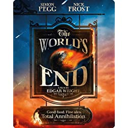 The World's End (Limited Edition) [Blu-ray SteelBook]