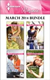 Harlequin Romance March 2014 Bundle: The Returning Hero\Road Trip With the Eligible Bachelor\Safe in the Tycoons Arms\Awakened By His Touch