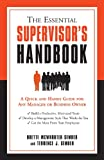 img - for The Essential Supervisor's Handbook book / textbook / text book