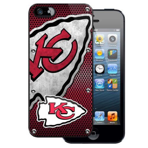 Team ProMark PC5NF15 Licensed NFL Protector Case for Apple iPhone 5 - Kansas City Chiefs - 1 Pack - Retail Packaging - Multi at Amazon.com