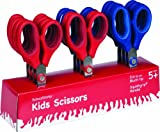 Schoolworks 5 Inch Blunt-Tip Kids Scissors, 12 Piece Class Pack (153520-1004)