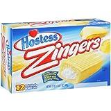 Hostess Zingers Vanilla One 12 Ct Box