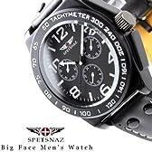 スペツナズ 右リューズ 横クロノダミー ホワイト腕時計(spetsnaz004wh)
