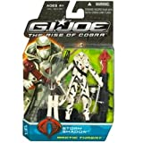 G.I. Joe Rise of Cobra Storm Shadow Arctic Threat Figure