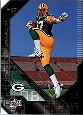 2008 Upper Deck (UD) Rookie Premiere # 19 Jordy Nelson RC - Rookie Card - Green Bay Packers - NFL Trading Card