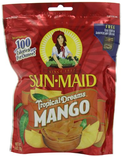 Sun Maid Tropical Dreams Mango, 6-Ounce (Pack of 5)