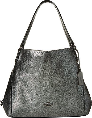 COACH-Womens-Refined-Pebble-Leather-Edie-31-Shoulder-Bag-DKGunmetal-Shoulder-Bag