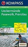 Ueckermünde - Pasewalk - Prenzlau: Wanderkarte mit Radrouten. GPS-genau. 1:50000 (KOMPASS-Wanderkarten)