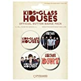 Kids In Glass Houses - Badge Set Dirt (in 2,5 cm)