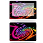 MightySkins Protective Skin Decal Cover for Asus Transformer TF300 10.1 inch screen tablet stickers skins Color Invasion