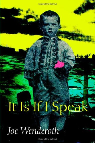 It Is If I Speak (Wesleyan Poetry Series) by Joe Wenderoth