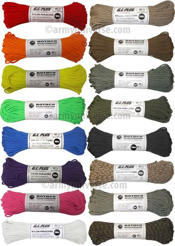 Rothco 550lb. Type III Nylon Paracord