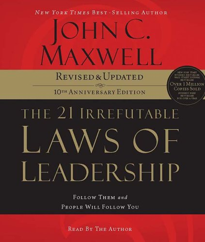 Maxwell John and his books on leadership