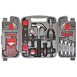 Apollo Precision Tools DT9408 53-Piece Household Tool Kit $27.44