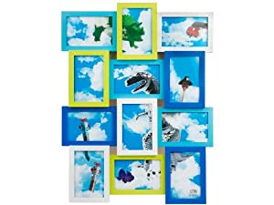 Present Time Silly Cool Collage Photo Frame, 4 by 6-Inch