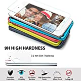 [2 Pack] iPod Touch 6 6th Generation & 5 5th generation Glass Screen Protector- iVoler® Premium Tempered Glass Screen Protector for iPod Touch 6G & 5G- 0.2mm 2.5D 9H Hardness with Lifetime Warranty