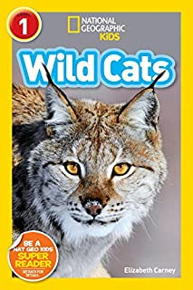 Book Cover: National Geographic Readers: Wild Cats
