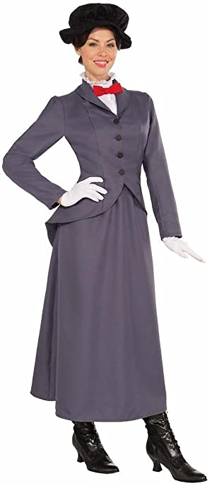 English Nanny Adult Costume