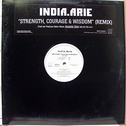 India.Arie - India.arie Strength Courage & Wisdom Vinyl Record - Zortam Music