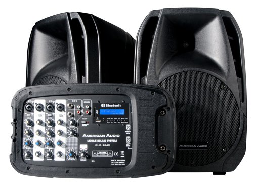 American Dj Supply Elspa10 Powered Portable Pa System