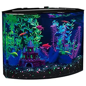 Glofish 29045 aquarium kit with blue led for Amazon fish tanks