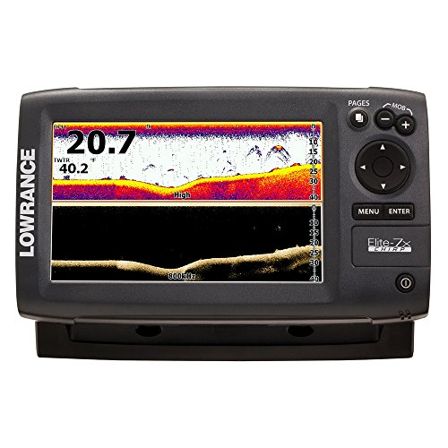 Lowrance Elite-7X CHIRP Fishfinder with 50/200+455/800 KHz Transducer