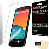 [Pack of 3] TECHGEAR® LG GOOGLE NEXUS 5 ANTI GLARE / MATTE LCD Screen Protectors
