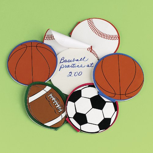Sport Ball Notepads (2 dz)