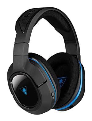 Turtle Beach - Ear Force Stealth 400 Fully Wireless Gaming Headset - PS4 (Discontinued by Manufacturer) (Color: New)