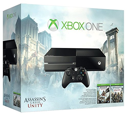 Xbox One 500GB Console - Assassin's Creed Unity Bundle