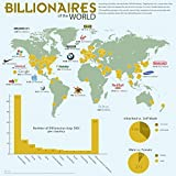 Vinteja Charts Of - Billionaires Around The World - A3 Poster Print