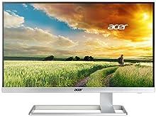 Acer 27型ワイド液晶ディスプレイ (非光沢/3840x2160 4K2K/300cd/100000000:1/4ms/ホワイ S277HKwmidpp