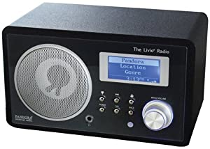 Livio LV001-B Internet Radio Featuring Pandora (Discontinued by Manufacturer)