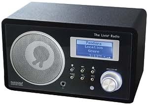 Livio LV001-B Internet Radio Featuring Pandora (Discontinued by Manufacturer)