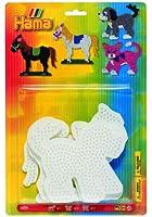 Hama - 4556- Loisirs Créatifs - Perles et Bijoux - Blister. 3 Plaques Préform. Animaux