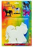 HAMA PEGBOARD BLISTER CAT/DOG/HORSE GIFT CREATIVE ART