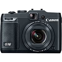 Canon PowerShot G16 12.1 MP CMOS Digital Camera with 5x Optical Zoom and 1080p Full-HD Video by Canon