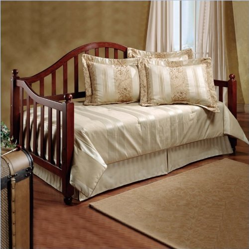 Hillsdale Allendale Wood Daybed In Cherry Finish With Roll-Out Trundle front-960501