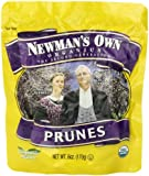 Newman's Own Organics California Prunes  6-Ounce Pouches (Pack of 12)
