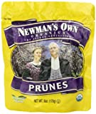 Newmans Own Organics California Prunes  6-Ounce Pouches (Pack of 12)