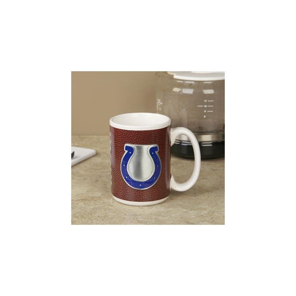 Indianapolis Colts Pewter Logo Football Coffee Mug  Sports