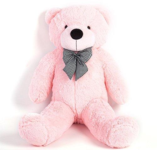 Peluche bel regalo XXL orso bambola gigante -MoreGentle -120 centimetri rosa