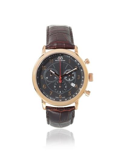 88 Rue du Rhone Men's 87WA120050 Brown/Black Rose Gold Stainless Steel Watch