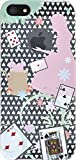 PLATA iPhone SE / 5s / 5 用 リンゴマーク アート ケース メルヘン タイプ 【 Alice 】01 IP5-6111-01