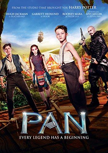 Pan [DVD] [2015]