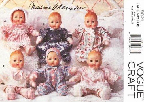 Vogue 9021 Madame Alexander 12