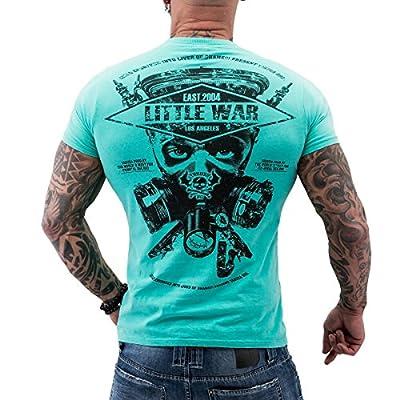 Yakuza ORIGINAL T-Shirt TSB 620 - turquoise moonwashed